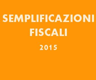 Vademecum Semplificazioni Fiscali 2015